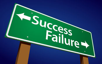 Success or Failure Sign