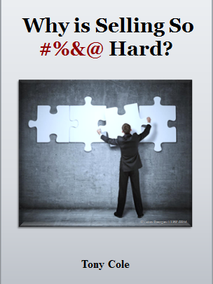 Why is Selling So Darn Hard?