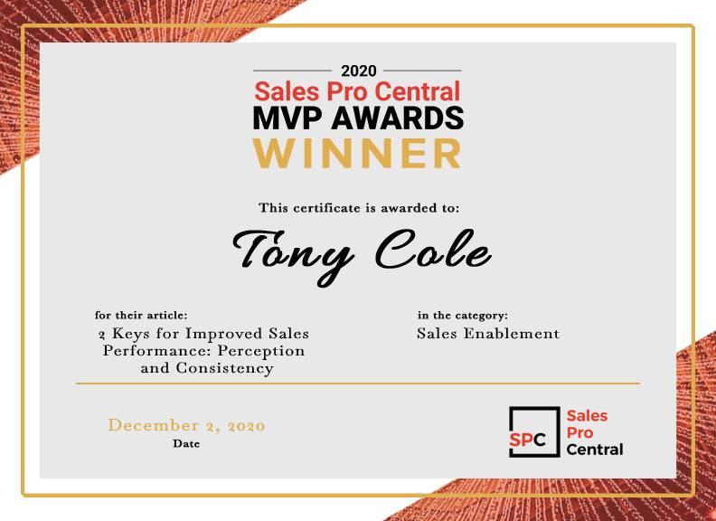 Certificate_Tony Cole (002)